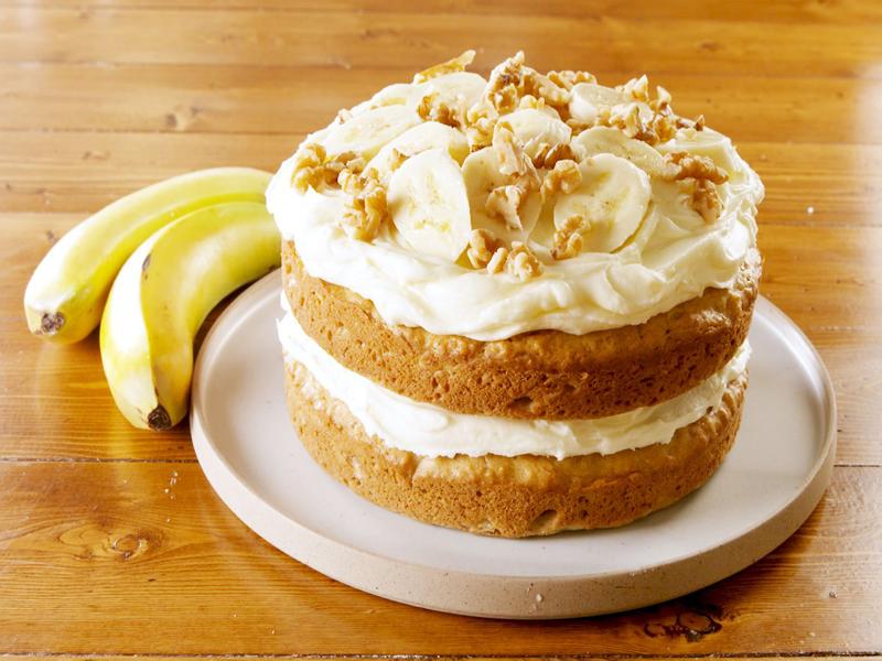Banana Cake Recipe |  Preparation Methods