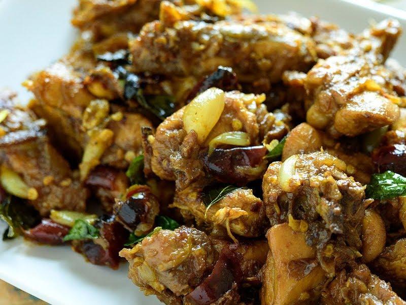 How to Make Chicken Uppukari