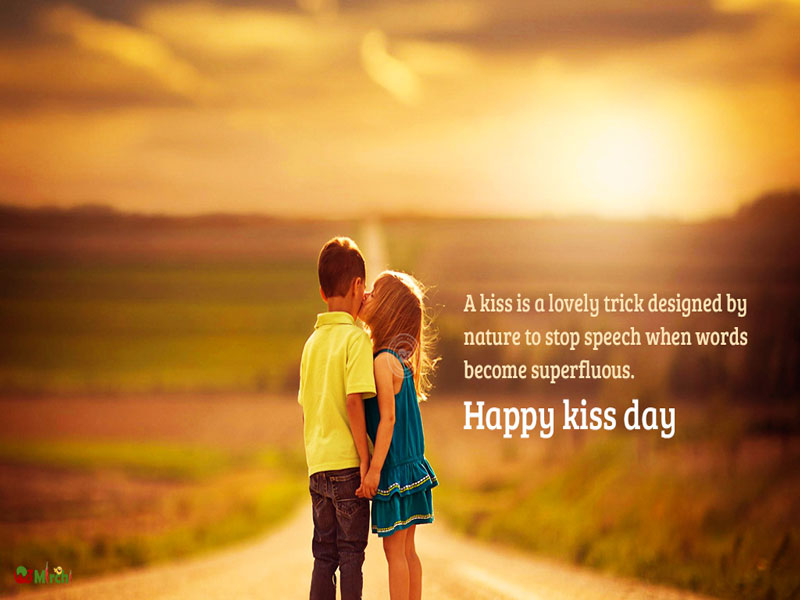 Celebrating the most Sweetest Kiss day!!!