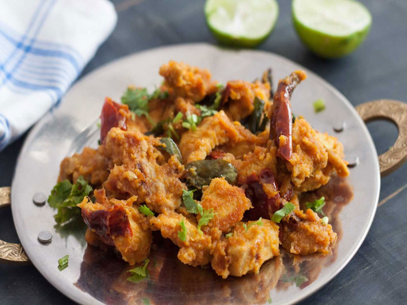 Pallipalayam Chicken Fry Recipe