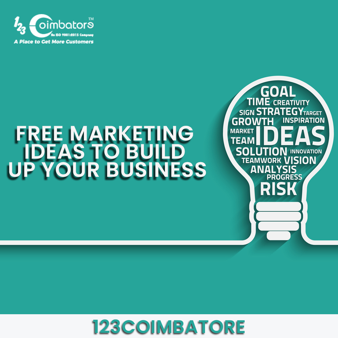 Free Marketing Ideas to Build Up Your Business