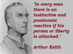 Celebrating Sir Arthur Keith!!!