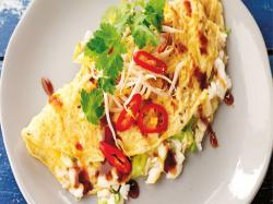 Easy and Tasty Crab Omelette Recipe