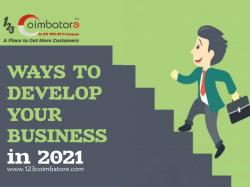 Ways to develop your business in 2021