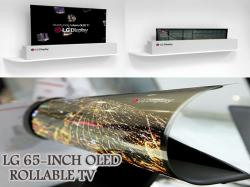HOW WILL BE THE FUTURE OLED?LG UNVEILS THEIR NEW 4K ROLLABLE OLED TV!!