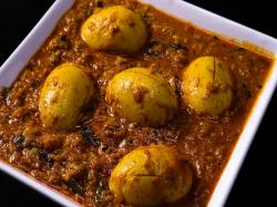 Spicy Chettinad Egg Curry