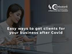 Easy Ways To Get Back Your Clients For Your Business After Covid.
