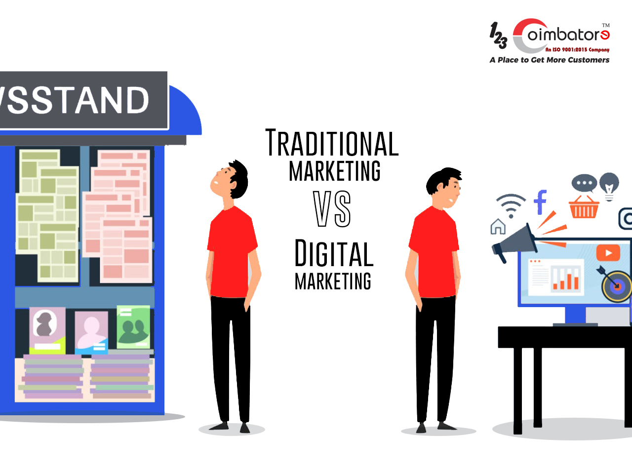 Digital marketing vs Traditional marketing which one is better?